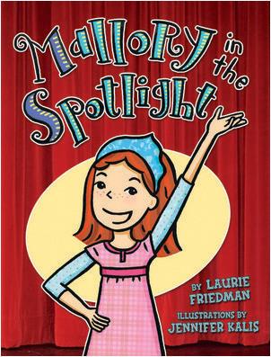 Cover: Mallory in the Spotlight