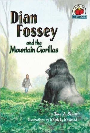 Cover: Dian Fossey and the Mountain Gorillas