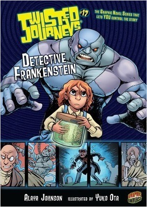 Cover: Detective Frankenstein: Book 17