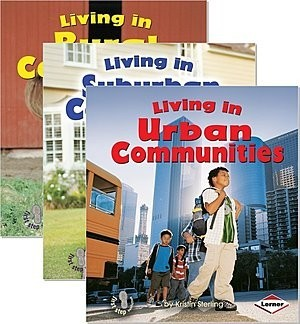 Cover: First Step Nonfiction — Communities — Paperback Set