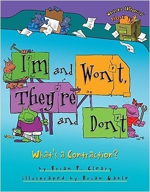Cover: I'm and Won't, They're and Don't: What's a Contraction?