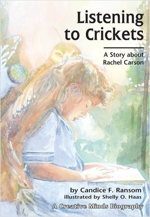 Cover: Listening to Crickets: A Story about Rachel Carson