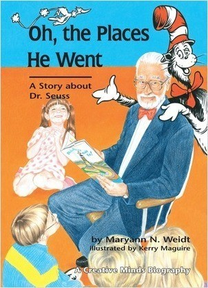 Cover: Oh, The Places He Went: A Story about Dr. Seuss
