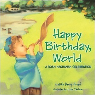 Cover: Happy Birthday, World: A Rosh Hashanah Celebration