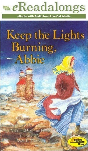 Cover: Keep the Lights Burning, Abbie