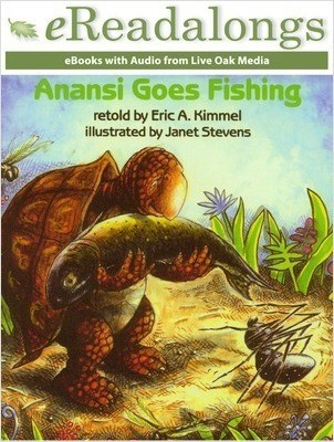 Cover: Anansi Goes Fishing