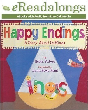 Cover: Happy Endings: A Story About Suffixes