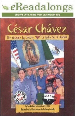 Cover: Cesar Chavez: La lucha por la justicia (The Struggle for Justice)