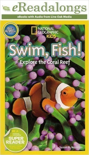 Cover: Swim, Fish!: Explore the Coral Reef