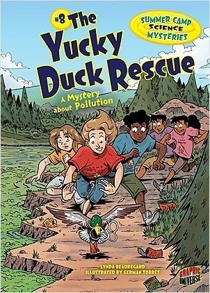 Cover: The Yucky Duck Rescue: A Mystery about Pollution