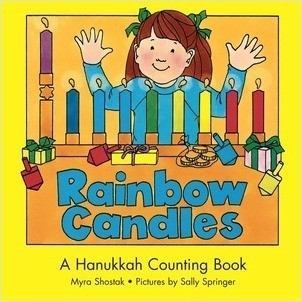 Cover: Rainbow Candles: A Hanukkah Counting Book