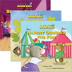 Cover: Mouse Math ® — Library Bound Set