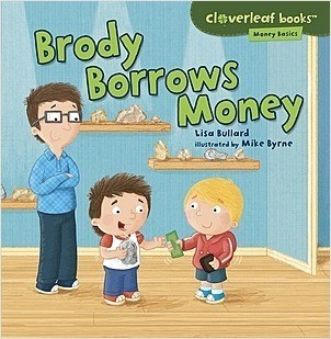 Cover: Cloverleaf Books ™ — Money Basics — Interactive Books Set