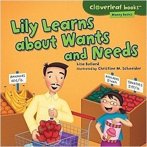 Cover: Lily Learns about Wants and Needs