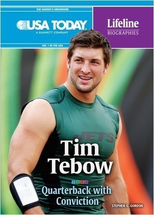 Cover: Tim Tebow: Quarterback with Conviction