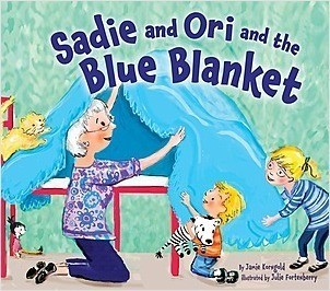 Cover: Sadie and Ori and the Blue Blanket