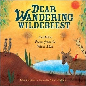 Cover: Dear Wandering Wildebeest: And Other Poems from the Water Hole