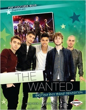 Cover: The Wanted: British Boy Band Sensation