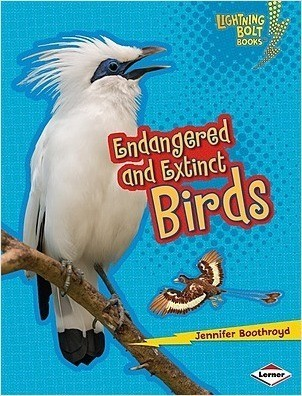 Cover: Endangered and Extinct Birds