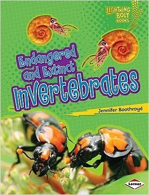 Cover: Endangered and Extinct Invertebrates