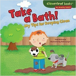 Cover: Take a Bath!: My Tips for Keeping Clean