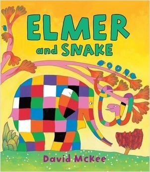 Cover: Elmer and Snake