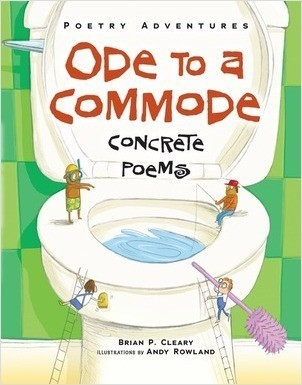 Cover: Ode to a Commode: Concrete Poems