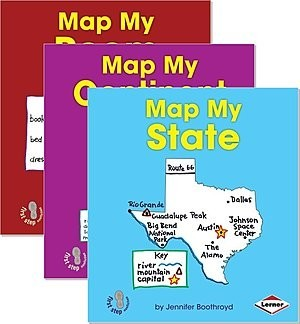 Cover: First Step Nonfiction — Map It Out — Paperback Set