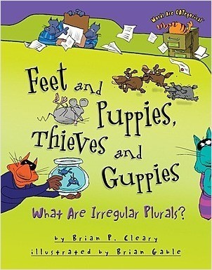 Cover: Feet and Puppies, Thieves and Guppies: What Are Irregular Plurals?