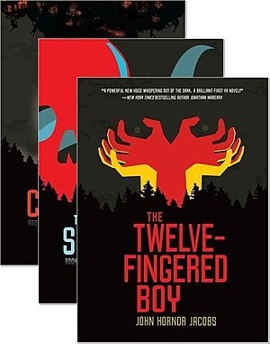 Cover: The Twelve-Fingered Boy Trilogy — Library Bound Set