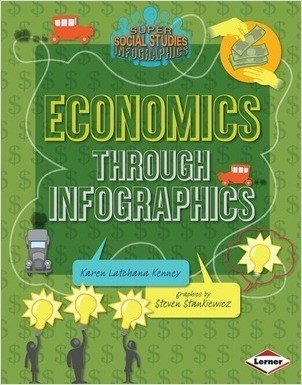 Cover: Economics through Infographics