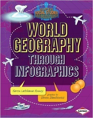 Cover: World Geography through Infographics