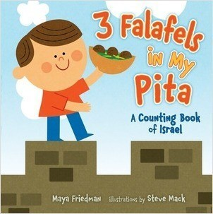 Cover: 3 Falafels in My Pita: A Counting Book of Israel