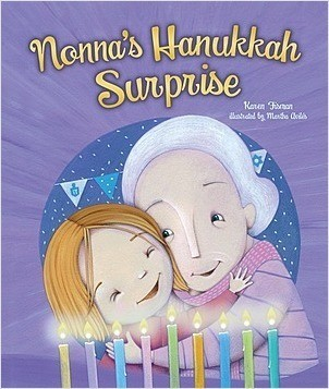 Cover: Nonna's Hanukkah Surprise