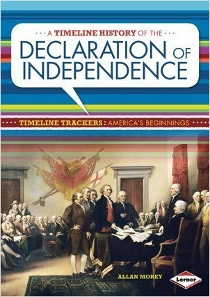 Cover: A Timeline History of the Declaration of Independence