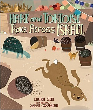 Cover: Hare and Tortoise Race Across Israel