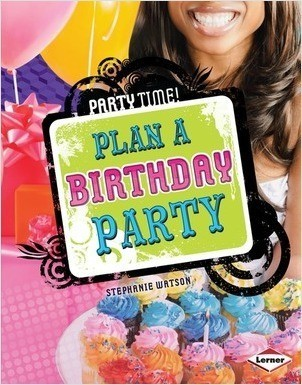 Cover: Plan a Birthday Party