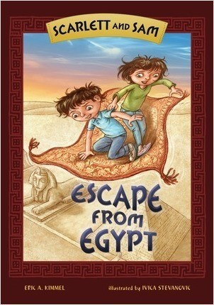 Cover: Scarlett and Sam: Escape from Egypt