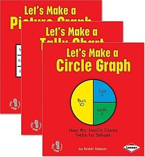 Cover: First Step Nonfiction — Graph It! — Interactive Books Set