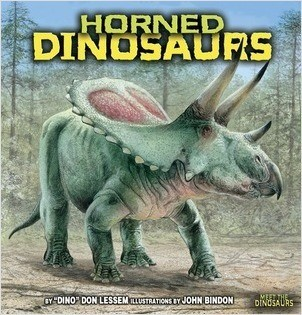 Cover: Horned Dinosaurs