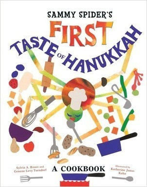 Cover: Sammy Spider's First Taste of Hanukkah: A Cookbook