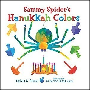 Cover: Sammy Spider's Hanukkah Colors