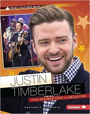 Cover: Justin Timberlake: From Mouseketeer to Megastar