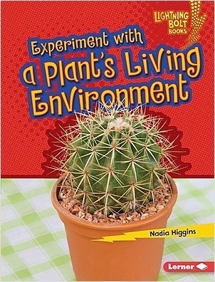 Cover: Lightning Bolt Books ™ — Plant Experiments — Interactive Books Set