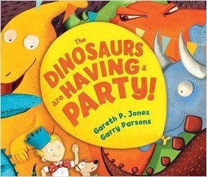 Cover: The Dinosaurs are Having a Party!