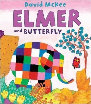 Cover: Elmer and Butterfly