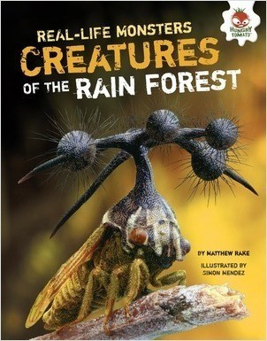 Cover: Creatures of the Rain Forest