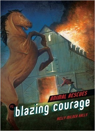 Cover: Blazing Courage