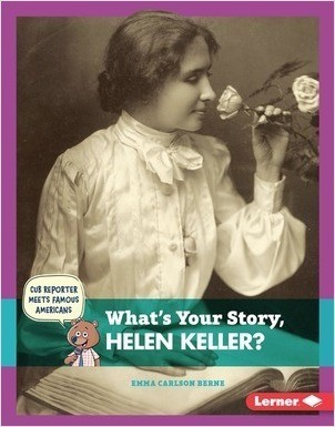 Cover: What's Your Story, Helen Keller?