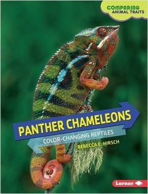 Cover: Panther Chameleons: Color-Changing Reptiles